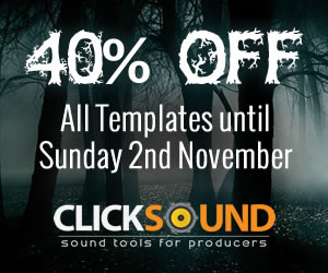ClickSound 40% off at Loopmasters