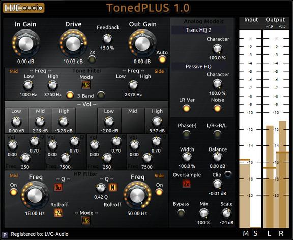LVC-Audio TonedPLUS
