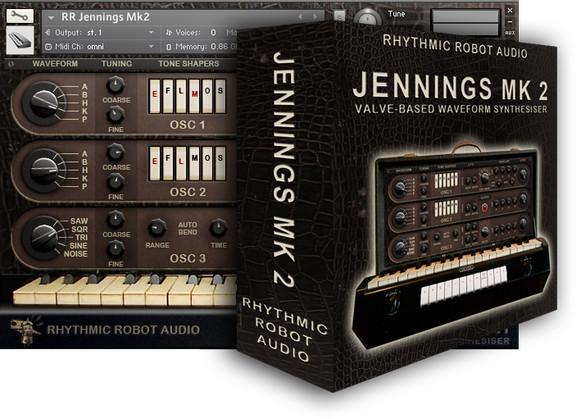 Rhythmic Robot Jennings Mk2