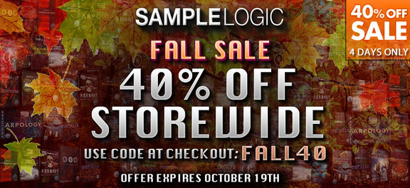 Sample Logic Fall Sale