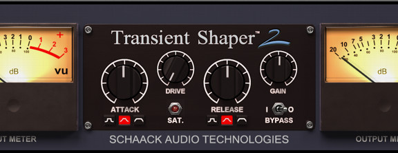 Schaak Audio Transient Shaper