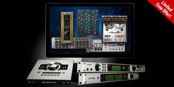 Universal Audio Apollo Premium Plug-Ins Promo