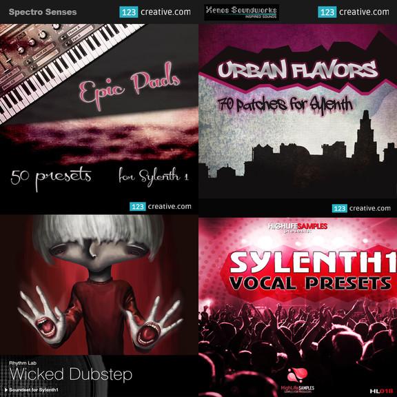 Sylenth1 soundsets at 123Creative