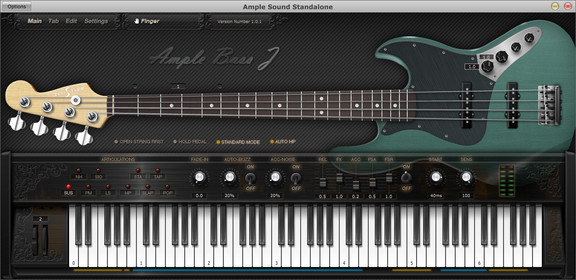 Ample Sound Ample Bass J (ABJ)