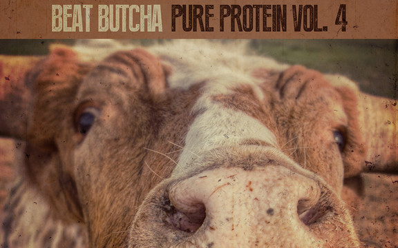 Beat Butcha Pure Protein Drum Kit Vol. 4
