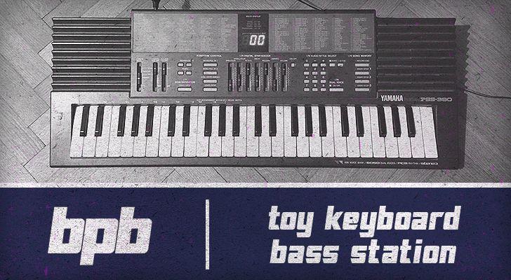 Toy Keyboard Bass Station