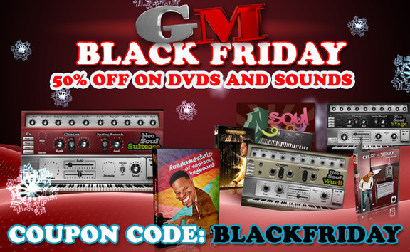 Gospelmusicians Black Friday