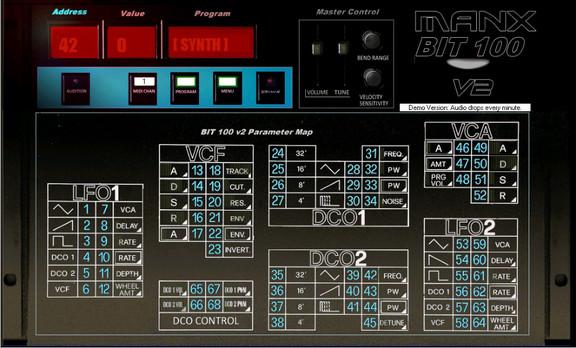 Manx Bit-100 v2