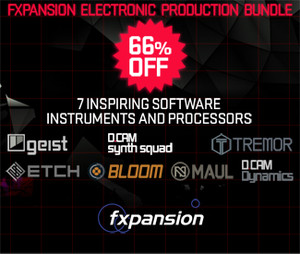 FXpansion Electronic Production Bundle