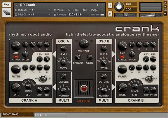 Rhythmic Robot Crank
