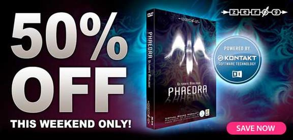 Zero-G Phaedra