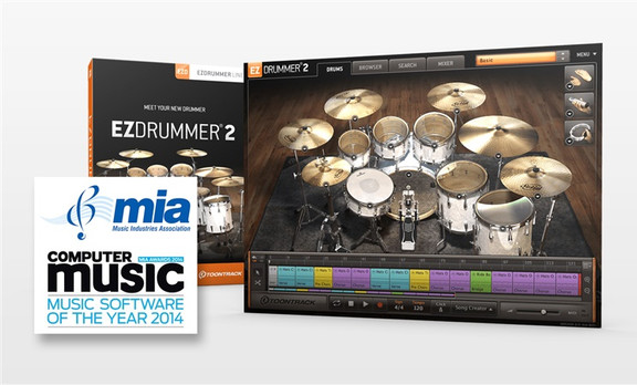 Toontrack EZdrummer 2 Music Software of the Year