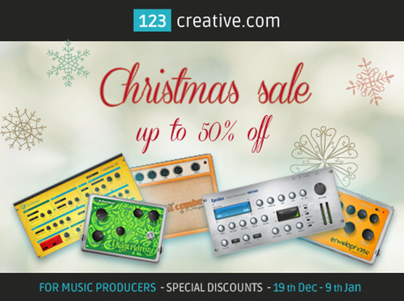 123Creative Christmas Sale