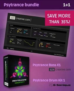 123Creative Psytrance Bundle