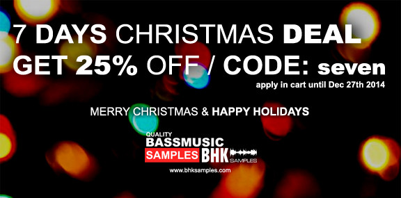 BHK Samples Christmas Sale