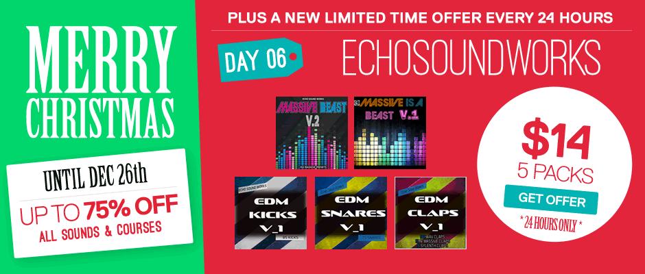 Echo Sound Works Christmas Bundle