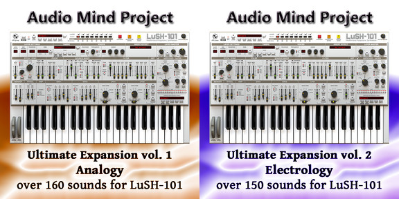 Audio Mind Project LuSH-101 soundsets