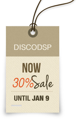 discoDSP Holiday Sale