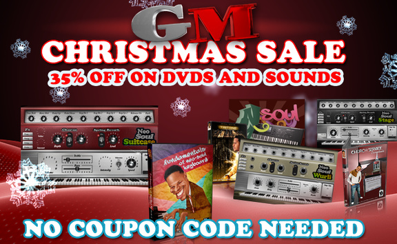 Gospel Musicians Christmas Sale