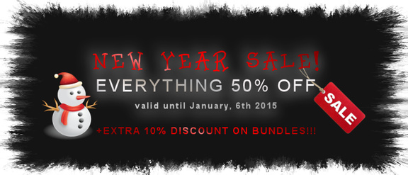 MaxSynth New Year Sale