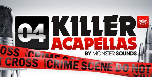 Monster Sounds Killer Acapellas 4