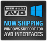 MOTU AVB Windows support