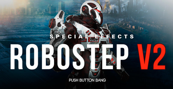Push Button Bang Robostep V2