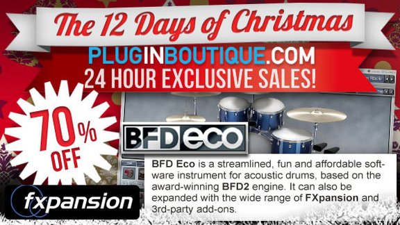 70% BDF Eco at Plugin Boutique