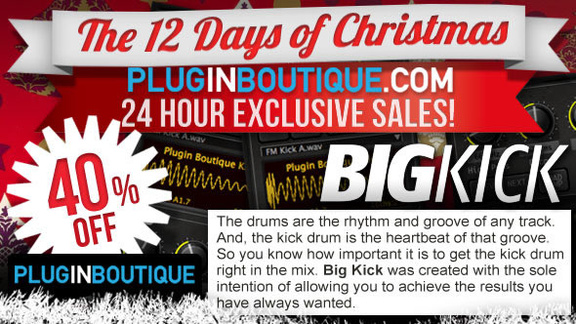 40% off Plugin Boutique BigKick