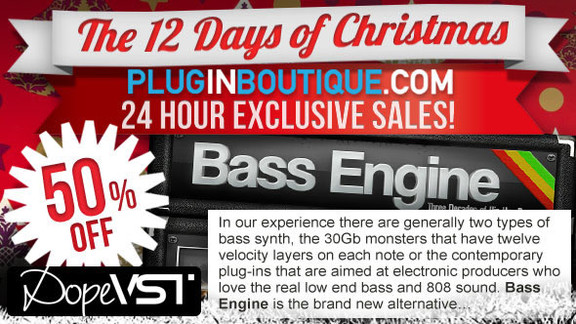 50% off DopeVST Bass Engine