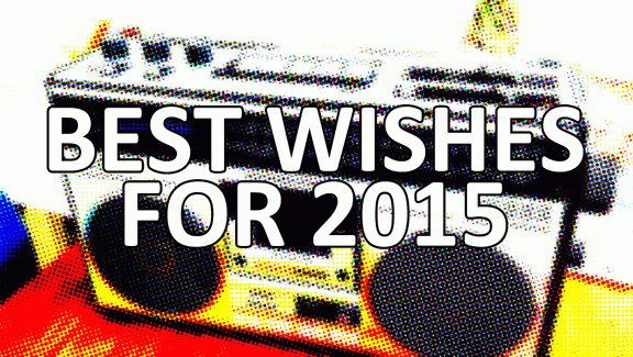 Best wishes for 2015!