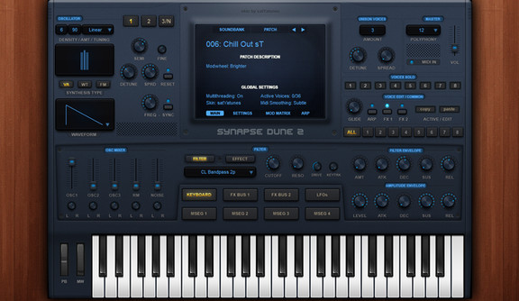 satYatunes Blue Theme for DUNE 2