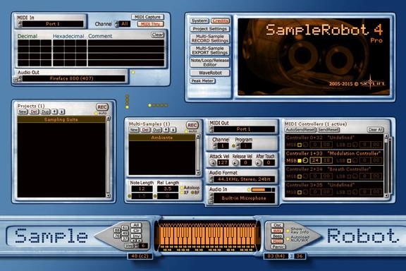 Skylife SampleRobot 4 Pro