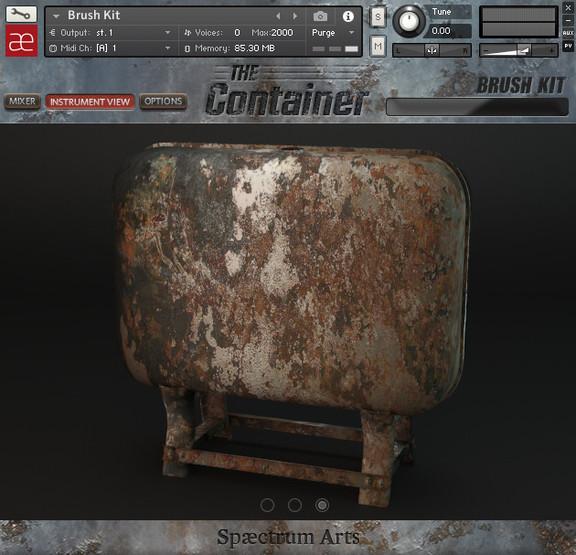 Spaectrum Arts The Container
