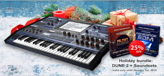 Synapse Audio DUNE 2 Holiday Bundle