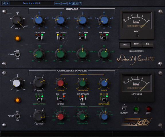+10db David Bendeth Signature Series Compressor