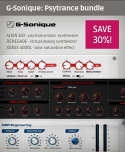 G-Sonique Psytrance Bundle