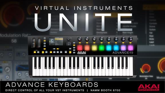 Akai Pro Advance Keyboard Series