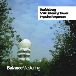 Tuefelsberg NSA Listening Tower Impulse Responses