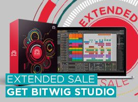 Bitwig Sale extended