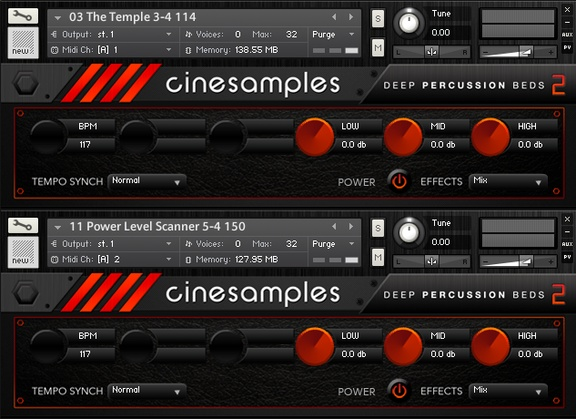 Cinesamples Deep Percussion Beds 2