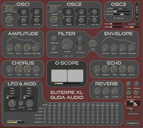 GuDa Audio Euterpe XL