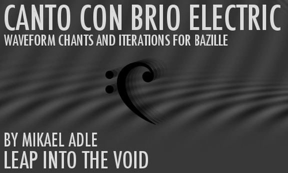 Leap Into The Void Canto Con Brio Electric