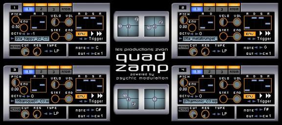 Les Productions Zvon Quad Zamp