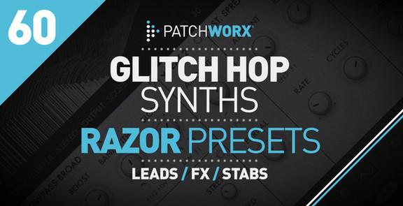Loopmasters Glitch Hop Synths for NI Razor