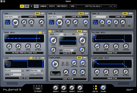 M-Audio Hybrid 3
