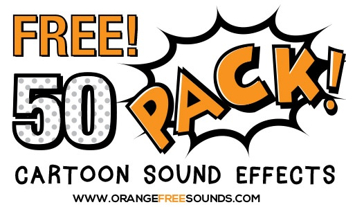Orange Free Sounds Cartoon Sound Effects