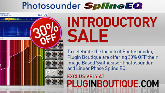 Photosounder sale at Plugin Boutique