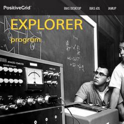 Positive Grid Explorer Program