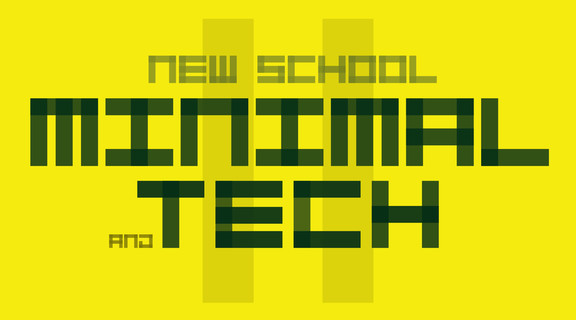 Sample Anatomy New School Minimal and Tech II